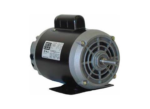 Motor Monofásico Weg 0.25 HP - 2 HP