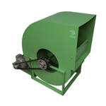 Extractor de aire centrífugo de Turbina con Transmision ES