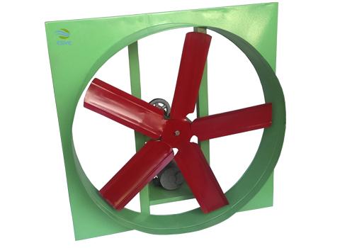 Extractor de aire aspas con Transmisión a Poleas y Bandas
