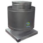 Extractor de aire hongo centrífugo - Uso Industrial